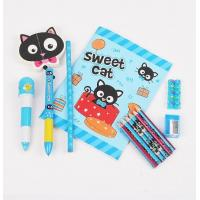 Quality Promotional Item Cute Stationery, Custom Cartoon Stationery Set wholesale