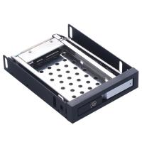 Quality Unestech 2.5in Aluminum panel single bay SATA case 2.5 hard drive caddy tray 2.5in HDD/SSD Internal HDD Enclosure wholesale