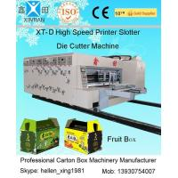 Quality Auto High Speed Corrugated Carton Printing Slotting Die Cutting Machine wholesale