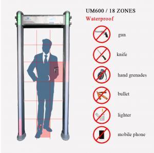 Quality Waterproof  Door Frame Metal Detector With High Density Fireproof Material wholesale