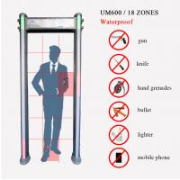 Buy cheap Waterproof Security Gate Door Frame Walk Through Metal Detector from wholesalers