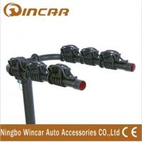 Quality Automobile Trailer Ball Bicycle Rack Rear Mounted 3 Bike Bicycle Carrier wholesale