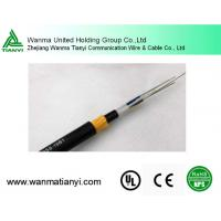 Quality ADSS Fiber Optic Flat Cable for Aerial Installation Clamps wholesale