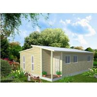 Quality Prefabricated Light Steel Frame Australian Granny Flats , One Slope Roof House for sale