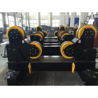 Quality 10 Ton Vessel Welding Turning Rolls , Self-Aligned Type PU Wheels For Piping wholesale