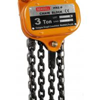 China 0.25T to 50T Manual Chain Block , Hoist Chain with Export Standard Superior Quallity and Safety Hook on sale