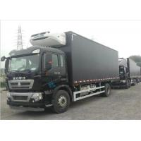 Quality Commercial Refrigerated Truck SINOTRUK HOWO 20 - 25 CBM German MAN Engine Euro 4 wholesale