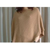 China Outdoor Ladies Knitted Shawl Wrap / Shoulder Shawl Customized Color on sale