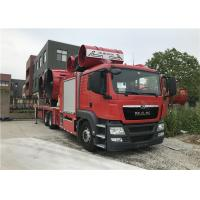 Buy cheap Large Smoke Exhaust Fire Fighting Truck 6*4 Drive Type 28t Weight 2300N Maximum from wholesalers