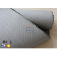 "Quality 1500gsm 1.2mm 39"" Silicone Coated Fiberglass Fabric Heavy Duty Materials wholesale"