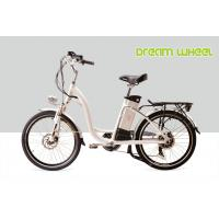 """Quality 48V 500W 32 km/h City E Bike 24"""" Wheel Womens Cruiser electric Bicycles Blue / Silver / Red wholesale"""