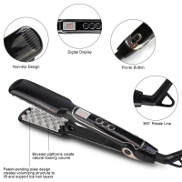 China FCC Certified 50W Dual Voltage Flat Iron Hair Straightener on sale