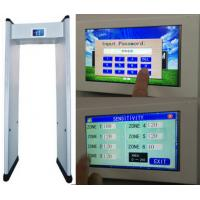 """Quality 7"""" LCD Touch Screen Walk Through Metal Detector with Remote Control wholesale"""
