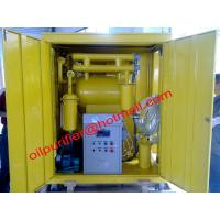 Quality Weather-proof cover Insulation Dielectric Oil Purifiers ,Cable Oil Filtration Plant remove wholesale