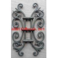 Quality cast iron flowers for window girll design/door /gate wholesale