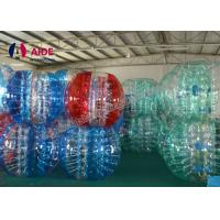 Quality Inflatable Bumper Ball Crochet Bubble Suit Soccer Bubble Suit Pattern For Baby wholesale