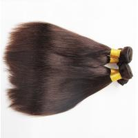 China 100% Indian Straight Hair Bundles / Straight Human Hair Extensions 8 - 30 Inch on sale