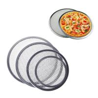 Quality Food Grade Wire Mesh Filter Disc , Stainless Steel / Aluminum Pizza Screen wholesale