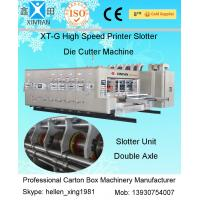 Quality Fully Automatic Corrugated Carton Box Rotary Die Cutting Machine 30kw wholesale