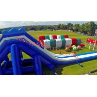 China Europe`s largest inflatable slide inflatable water slide  Gung-ho inflatable obstacle course 5k on sale