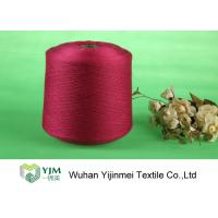 Cheap High Tenacity Ring Spun Dyed Polyester Yarn , 100% Virgin Polyester Color Yarn Dyeing for sale
