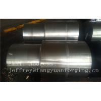Quality 42CrMo4 SCM440 AISI 4140 Alloy Steel Forged Shaft Blanks Quenching And Tempering Rough Machining wholesale