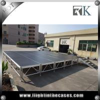 China portable stage stair concert stage stage backdrop decorations four legs stage on sale