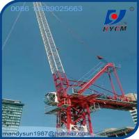 Quality 2.2ton Tip Load Luffing Jib Tower Crane Specification for 6 ton Crane in Dubai wholesale