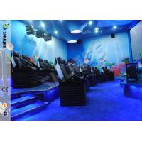 Quality Customized 5D Movie Theater Ocean park 5D Motion Cinema Arc Screen Luxury Chairs  Movies wholesale