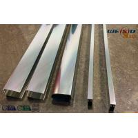 Cheap Sliver Mirror Polished Aluminium Profile For Bacony Rail Polished Aluminum for sale