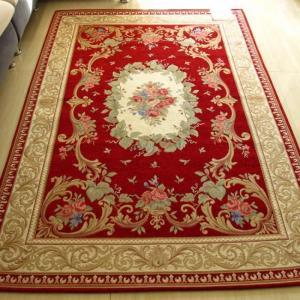 China Luxury Style Computer Jaquard Machine Made Carpet Anti-Slip Backing Flower Rugs on sale