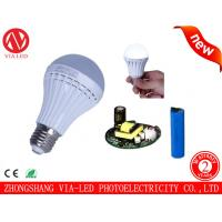 LED rechargeable emergency bulb 5w