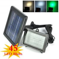 Quality Color Changing Solar Flood Lights / Solar Powered Outdoor Motion Sensor LED Light wholesale