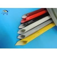 High Temperature Silicone Fiberglass Sleeving for Insulators Fireproof and Eco-friendly
