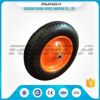 "Quality 13"" Light Duty Pneumatic Dolly Wheels 3.25/3.00-8 16mm Axle Hole Centered Hub TUV wholesale"