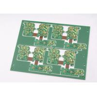 Quality Green Solder Mask Rigid Flexible PCB 4 Layer with Immersion Gold Plating wholesale
