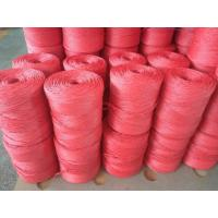 Cheap 1mm 1.5mm Colorful Polypropylene Twine For Tomato Tying / Poly Twine Rope for sale