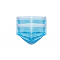 Quality 3 Ply Non Woven Food Industry Disposable Earloop Face Mask wholesale
