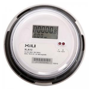 China ANSI Round Socket Type Single Phase KWH Meter , Electronic Digital Energy Meters on sale