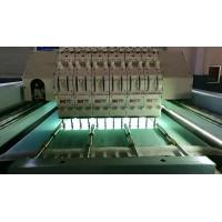 Quality 5KW Horizontal Quilting Embroidery Machine Single Head Integral Steel Structure wholesale