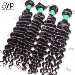 Durable Soft Brazilian Human Hair Weave Extensions 4 Bundles 10A Grade No Mix