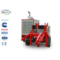 Quality Red Color Power Line Stringing Equipment Max Intermittent Pull 220kN Hydraulic Pulley wholesale