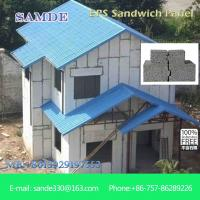 China How to insulate external walls internal wall panel for prefabricated house 2440*610*75mm on sale