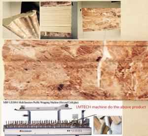 China round aluminum extrusion profiles Profile Wrapping Machine on sale