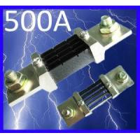Quality 500A 75mv DC Current Shunt Resistor for AMP Panel Meter wholesale