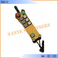 Quality Radio Industrial Remote Controls / Radio Controlled Switch 6 Botones wholesale