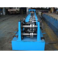 Quality C Z Purlin Interchangeable Steel Rolling Machine / Metal Roll Forming Machine In Warehouse Building wholesale