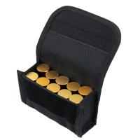 China Outdoor Tactical 10 Round Shotshell Reload Holder Molle Pouch for 12 Gauge/20G Magazine Pouch Ammo Round Cartridge pouch for sale