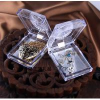 Quality Delicate Durable Acrylic Jewelry Display Case Recycyled With Cast Acrylic wholesale