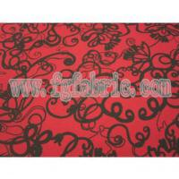 Quality 100% Polyester Chiffon Fabric with Printing for Garments PSF-022 wholesale